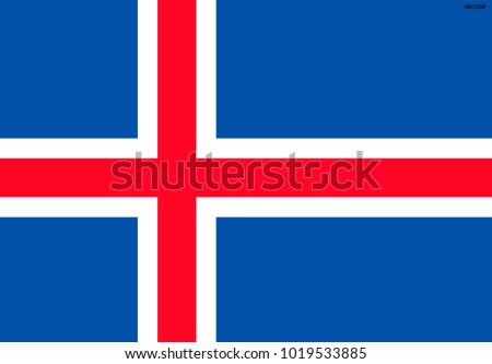 flag of iceland symbol of