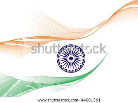 flag of india with white