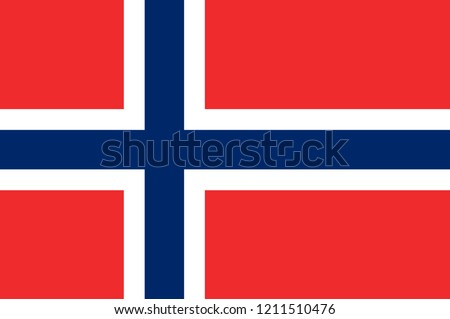 flag of kingdom of norway  is a