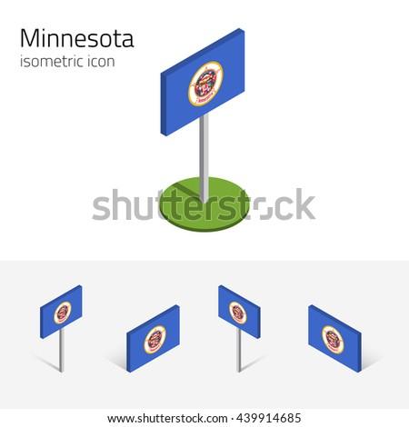 flag of minnesota  state of