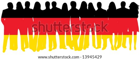 Flag of people