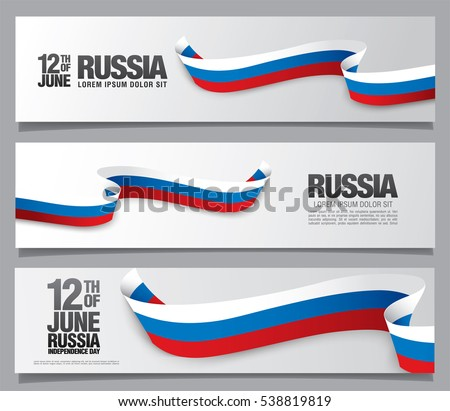 flag of russia three banners