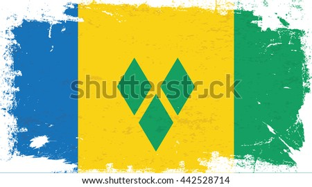 flag of saint vincent and the