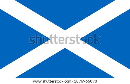 flag of scotland saint andrews