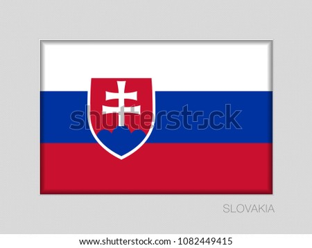flag of slovakia national