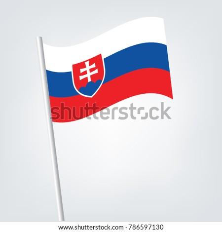 flag of slovakia slovakia icon