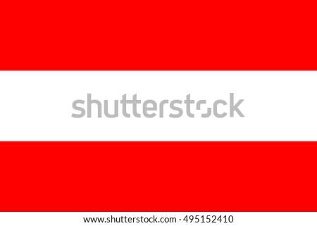 Flag of the Austria