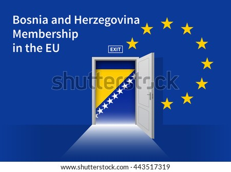 flag of the bosnia and