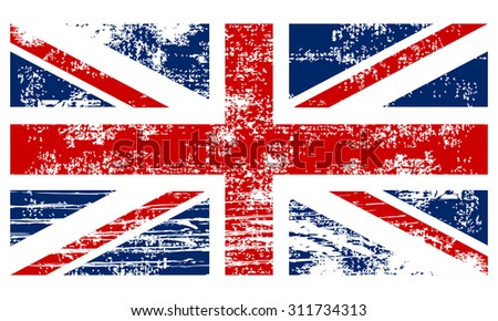 flag of the great britain...