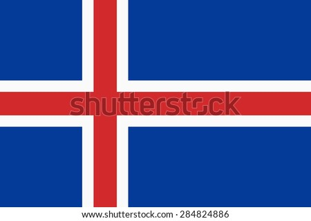 flag of the iceland