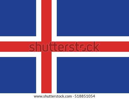 flag of the iceland page