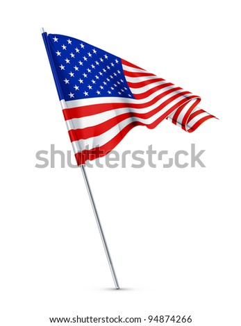Flag of the United States, vector