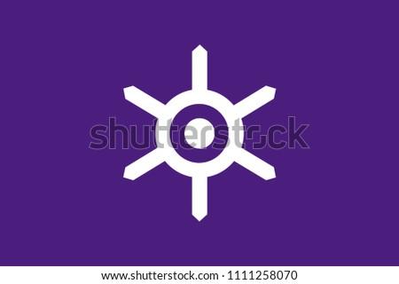 flag of tokyo metropolis in japan
