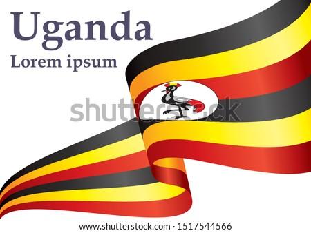 flag of uganda  republic of