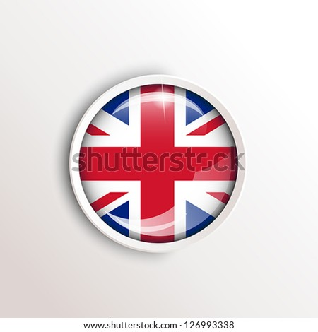 flag of uk. flag concept