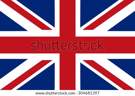 Flag of United Kingdom - vector