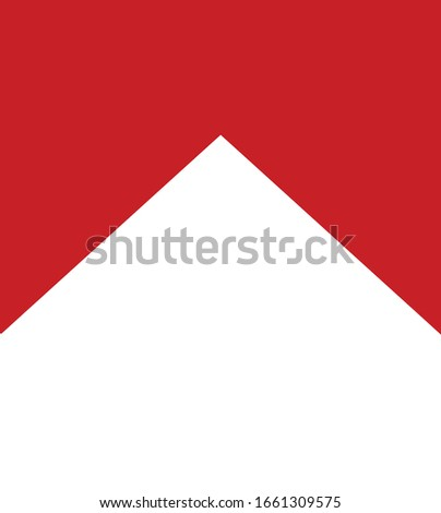 flag red white background template