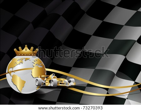 flag vector and car of careers of one formulate
