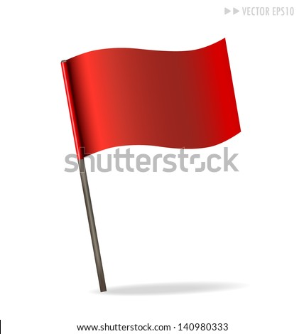 Flag. Vector illustration.