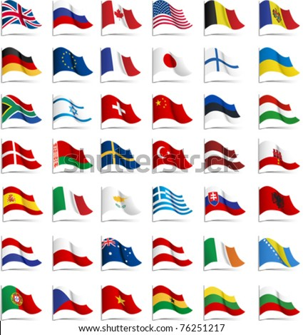 flags all elements and