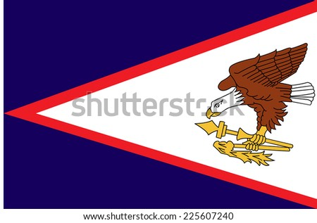 Flags of american samoa