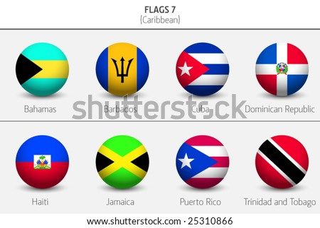 Flags of Caribbean Countries 8