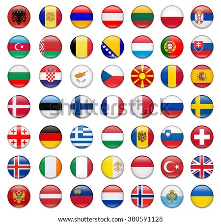 flags of europe complete