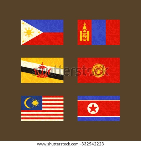flags of philippines  brunei
