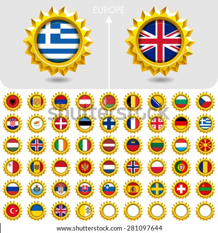 flags of the world jewellery