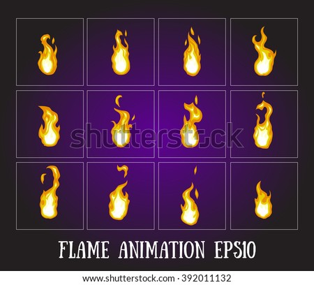 flame animation fire animation