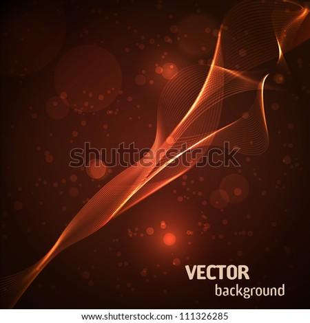 Flame background. Vector Illustration