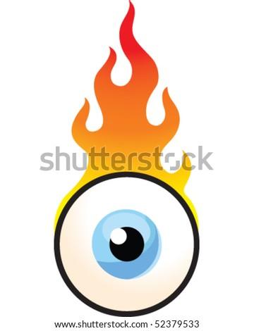 Flame Eyeball