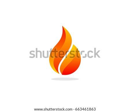 flame logo design concept download free vector art stock graphics rh vecteezy com flame login flame logo design