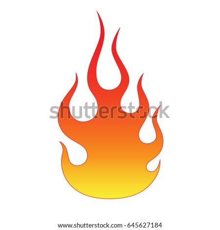flame tattoo tribal sketch