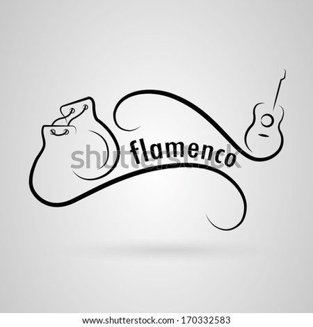Flamenco classes Castanets and guitar