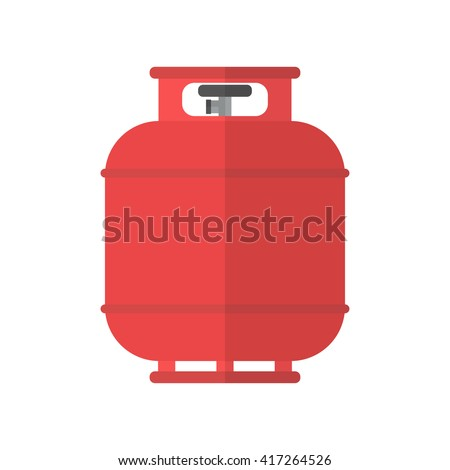 flammable gas tank icon
