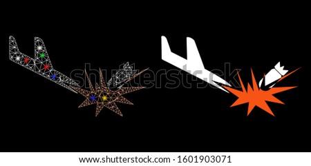 flare mesh aircraft bomb