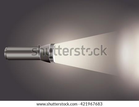flash light icon design