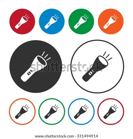 flash light icon light icon