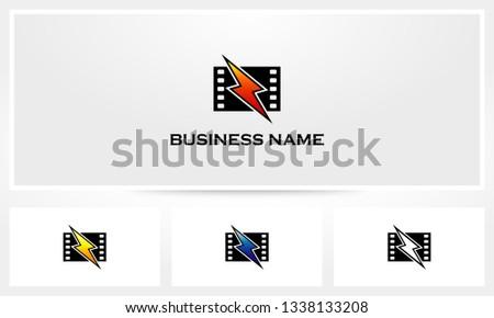 Flash Movie Filmstrip Logo