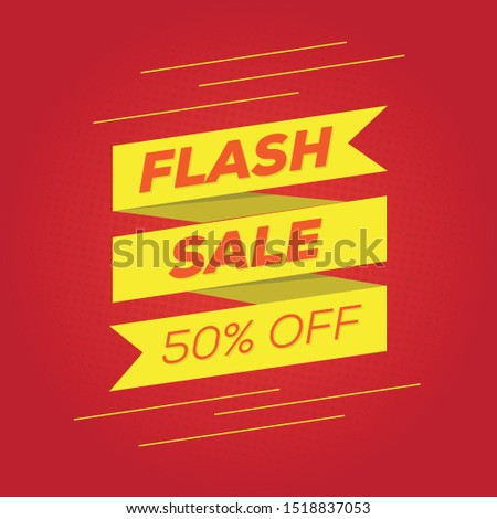 Flash Sale Banner Promo Template