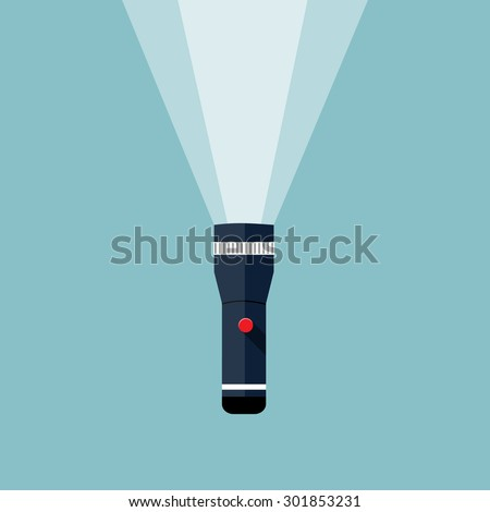 flashlight illustration