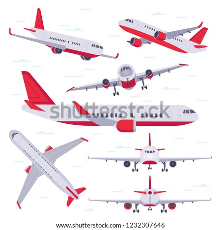 flat airplane aircraft flight