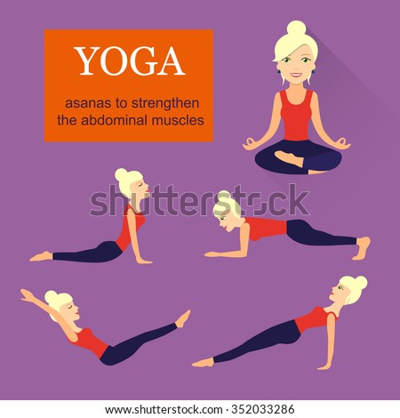 flat asanas to strengthen the