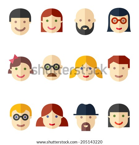 stock-vector-flat-avatars-faces-people-i
