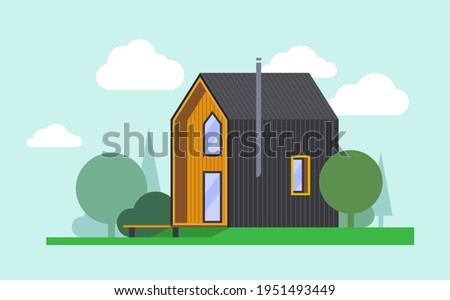 flat barnhouse  modern  two
