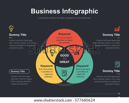 Venn diagram vector download free vector art stock graphics images flat business presentation vector slide template with circle venn diagram ccuart Gallery