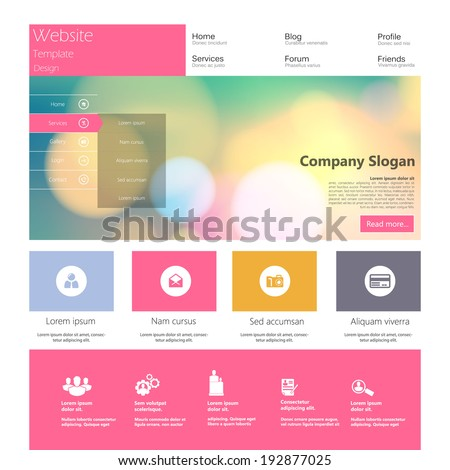 Free Communications HTML5 Website Template with PSD | Free Web ...