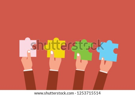 Flat design business vector illustration concept. Business ad for website and promotion banners. empty social media copy space text for your own texts. Template art esp isolated promoting Service