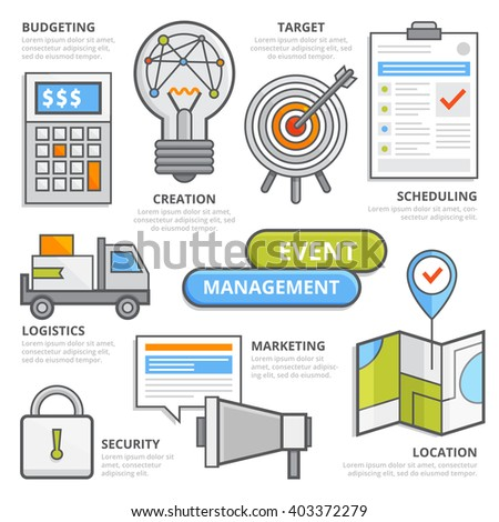 vector images illustrations and cliparts flat design elements of